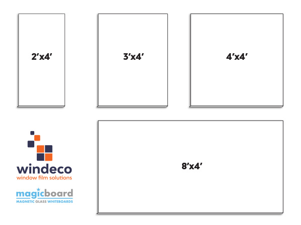 windeco magicboard magnetic glass whiteboards